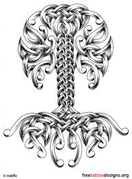 celtic tree tattoos designs clipart library