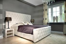 Black Modern Bed Frame White Bed Design Plans Mirrored Table Lamp White Embroidered