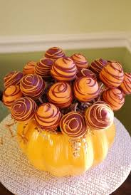 fall thanksgiving cake pop display such a idea of