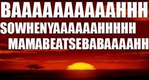 Lion King Meme - baaaaaaaaaaaaaahhh the meta picture