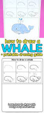 Colouring Of Kitchen Garden Drawing For Kids How To Draw A Whale Step By Step Cartoon Style Easy Peasy And Fun