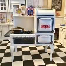 miniature dollhouse kitchen furniture miniature roper range 1920s stove cast iron kitchen stove
