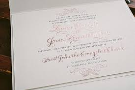 wedding invitations gold foil letterpress and gold foil wedding invitations