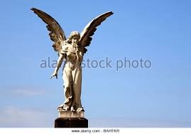 statue with angel statue stock photos angel statue stock images alamy