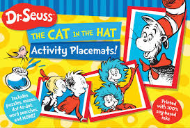 cat in the hat writing paper dr seuss the cat in the hat activity placemats includes puzzles dr seuss the cat in the hat activity placemats includes puzzles mazes dot to dot word searches and more dr seuss activity books dr seuss