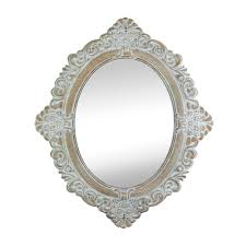 wall mirrors decorative oval large antique white wall mirror for