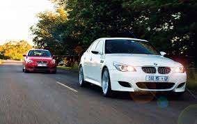 bmw m5 smg e60 against an example e60 m5 that u0027s been converted to