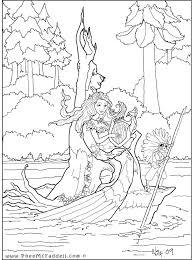 hard realistic mermaid coloring pages 2281 realistic mermaid
