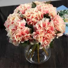 Flower Arrangements Home Decor by Compare Prices On Hydrangea Silk Flower Arrangements Online