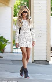 Christinaelmoussa Christina El Moussa Leaves Salon In Yorba Linda Daily Mail Online