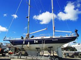 1983 hkr rolf jackobson opal 46 sail boat for sale www