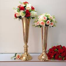 Metal Vases For Centerpieces by 30 Dramatic Tall Wedding Centerpieces 19311 Centerpieces Ideas