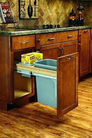 trash can cabinet lowes trash can lowes best transitional kitchen trash cans ideas on