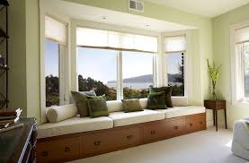 Contemporary Bay Window Ideas Freshome - Furniture placement living room bay window