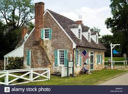Brick Colonial House Colonial Brick Homes Shutters Historic Stock Photos U0026 Colonial