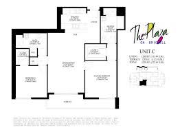 plaza on brickell condo floor plans