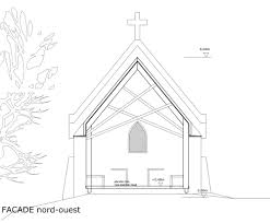 gallery of chapel st genevieve obika architecture 19