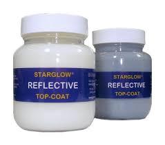 Heat Reflective Spray Paint - glowtec uk retro reflective clear paint range