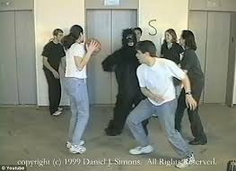 Change Blindness Youtube Can You See The Dancing Gorilla New Psychological Study Reveals