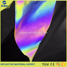 rainbow color reflective material rainbow color reflective