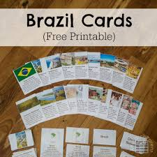 Flags Of The World Free Printable Brazil Cards Researchparent Com