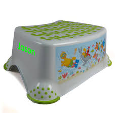 Step Stool For Kids Bathroom - sesame street step stool with extra grip potty training concepts