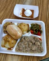 thanksgiving lunch at my s school that s turkey by the way