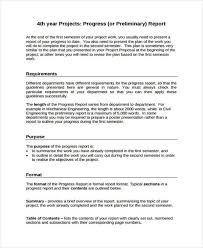 check out report template 10 progress report templates free sle exle format