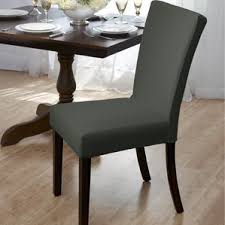 Kitchen  Dining Chair Covers Youll Love Wayfair - Dining room chair slip covers