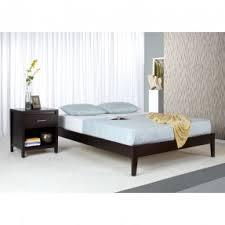solid wood twin platform bed foter
