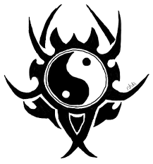 yin yang tribal tattoo design by xninachanx on deviantart