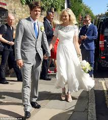 wedding registry for guys fearne cotton dazzles in a sparkling wedding dress as she leaves
