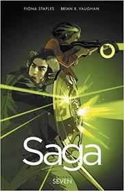saga volume 7 9781534300606 brian k vaughan fiona