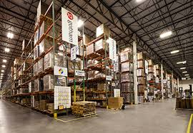 warehouse lighting and controls