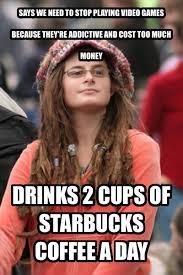 Too Much Coffee Meme - livememe com college liberal