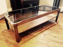 myer coffee table rectangular excellent retro teak danish g