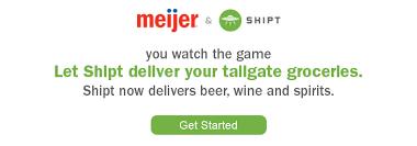 tailgating meijer com