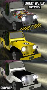 jeep type owner type jeep drift edition addon ginopinoy mods for grand
