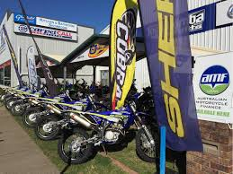 motocross bikes on finance dealer profile