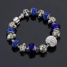 skull bracelet charms images New crystal charm skull bracelet jpg