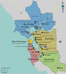 san francisco map california bay area california wikitravel