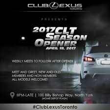 toronto lexus on the park club lexus toronto home facebook