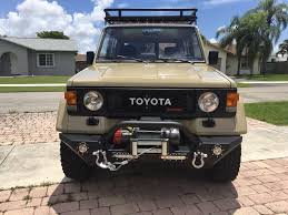 land cruiser off road restored 1986 toyota land cruiser 2 door swb offroad for sale