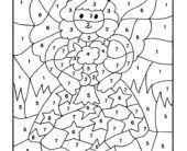 coloring pages hard disney color by numbers coloring pages