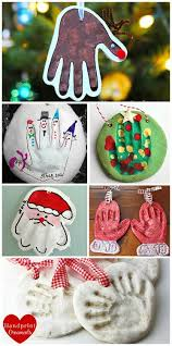 adorable salt dough handprint ornaments gift