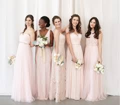 gold color bridesmaid dresses unique mix and match bridesmaid dresses bhldn