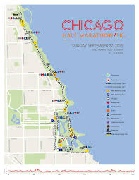 Blue Line Chicago Map by How To Park For The Chicago Half Marathon Spothero Blog
