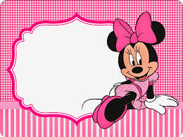 minnie pink squares free printable candy bar labels