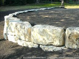solar retaining wall lights limestone landscape blocks boulder retaining wall limestone