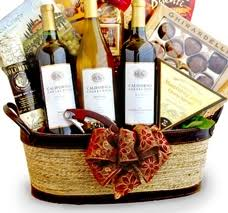 california wine cheese gift basket